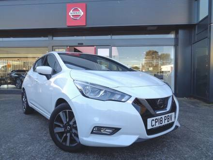 2018 Nissan-Micra-Ig-T-N-Connecta-CP18PBV for sale Pembrokeshire, South Wales